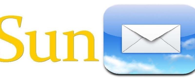 Sun logo with icon