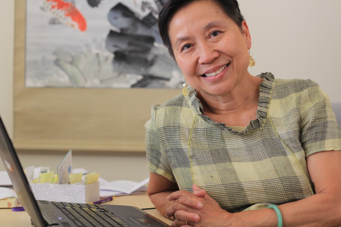 Anh Sawyer, executive director of Southeast Asian Coalition of Massachusetts