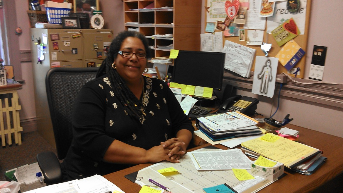 Parlee Jones is the shelter advocate at Abby's House. Well, that's her day job; we don't have room to list everything else here.