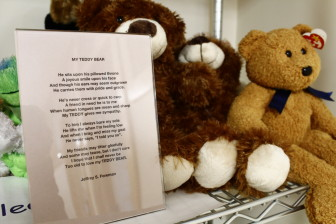 Bears on Board Inc. collects cuddly toys for first responders to give to children in crisis.