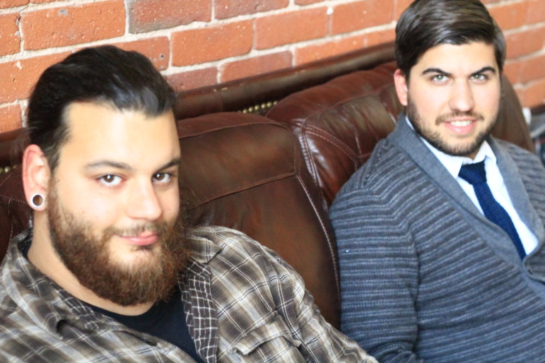 Chef Tim Russo, left, and general manager Tom Studer plan to bring a distinct style to the Canal District culinary scene.