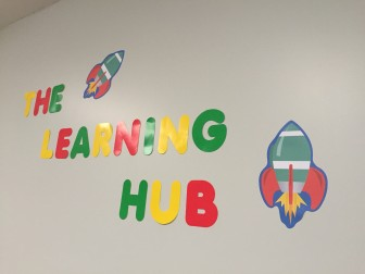 Just as The Learning Hub is about to take off, along comes an unexpected challenge.