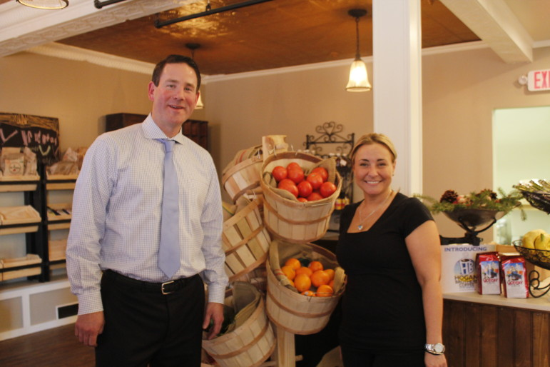 Tim Moynagh, owner, and Kathryn Stanley, general manager, are the forces behind Viriditas.