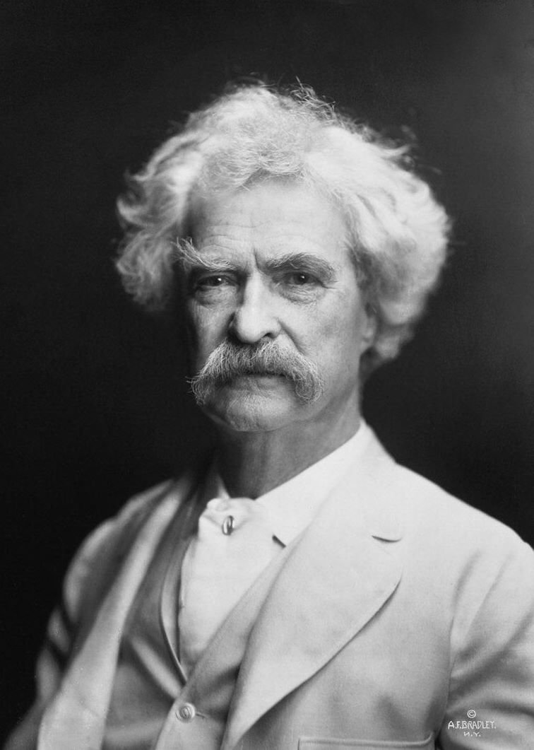 Mark Twain knew a thing or two about statistics.