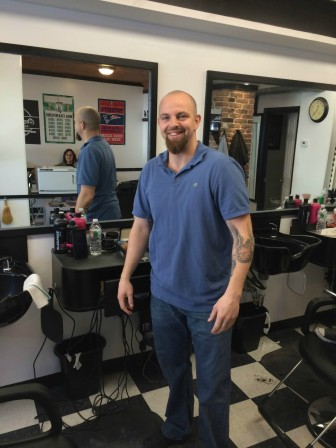 For Chase Joinville, opening Grafton Hill Barbershop was not only a chance at redemption for the storefront at 120 Hamilton St., but for the new owner as well.