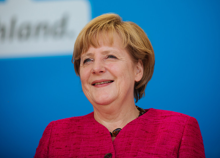 Angela Merkel's stance on refugees has been hailed as a shining global example, but as violence among and by some of those refugees intensifies her position becomes more precarious.
