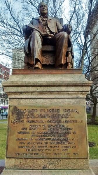 George Frisbie Hoar statue