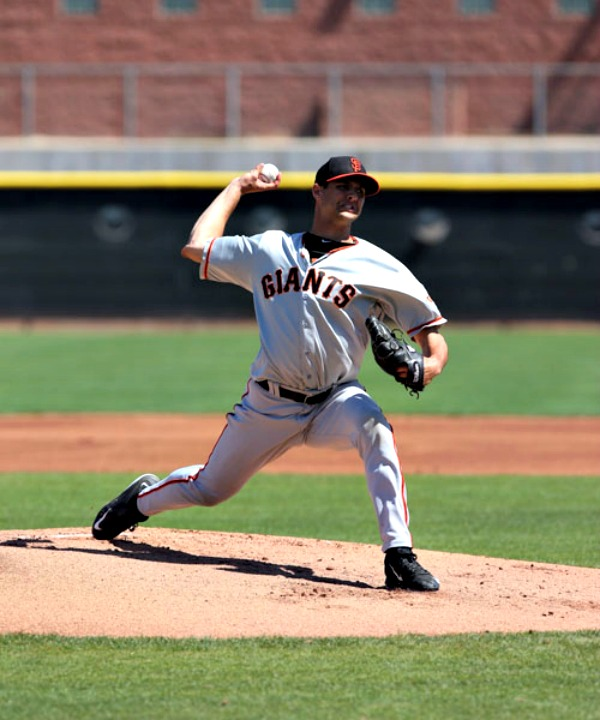 Tyler Beede of Auburn is the San Francisco Giants' top prospect