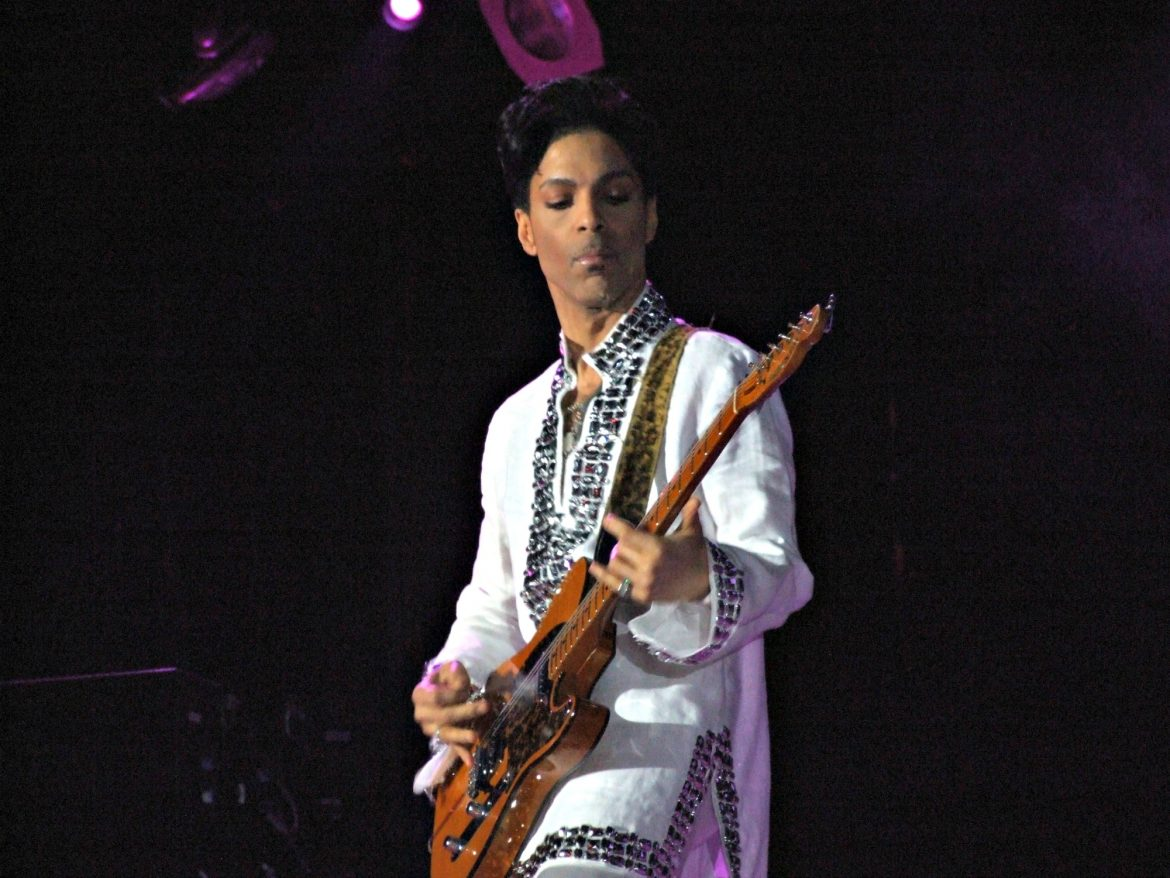 Prince (at Coachella in 2008) was a fan of Wally's set list.