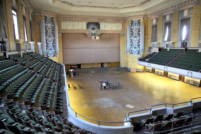 The main auditorium