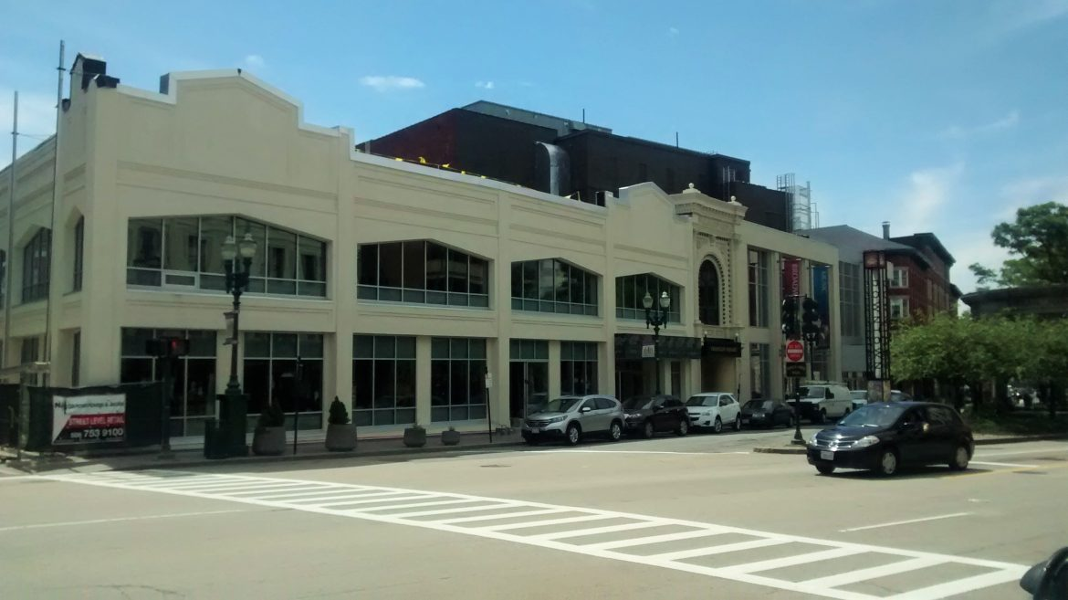 A new restaurant will soon inhabit 551 Main St., next to the Hanover -- but will diners feel safe?