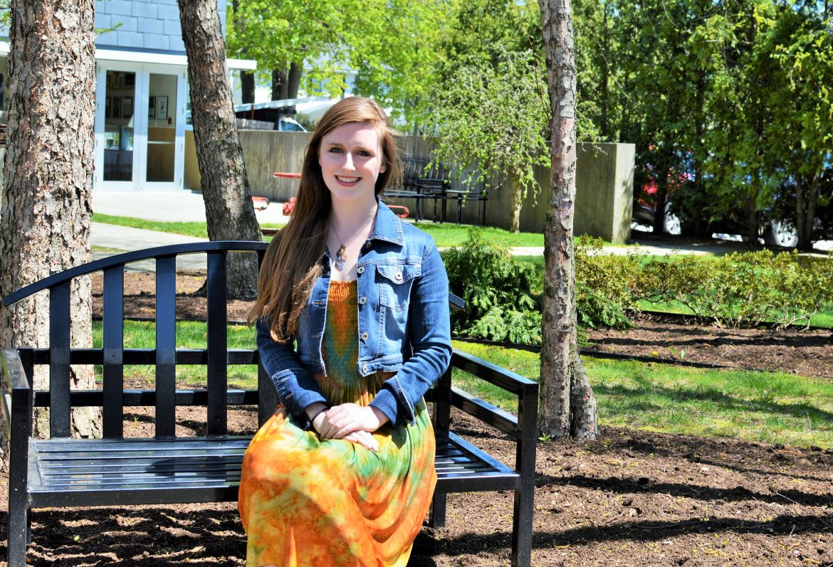 Krissy Truesdale will be a sophomore at Clark this fall. She'll also likely have finished the first project as CEO of her Solar for Our Heroes nonprofit.