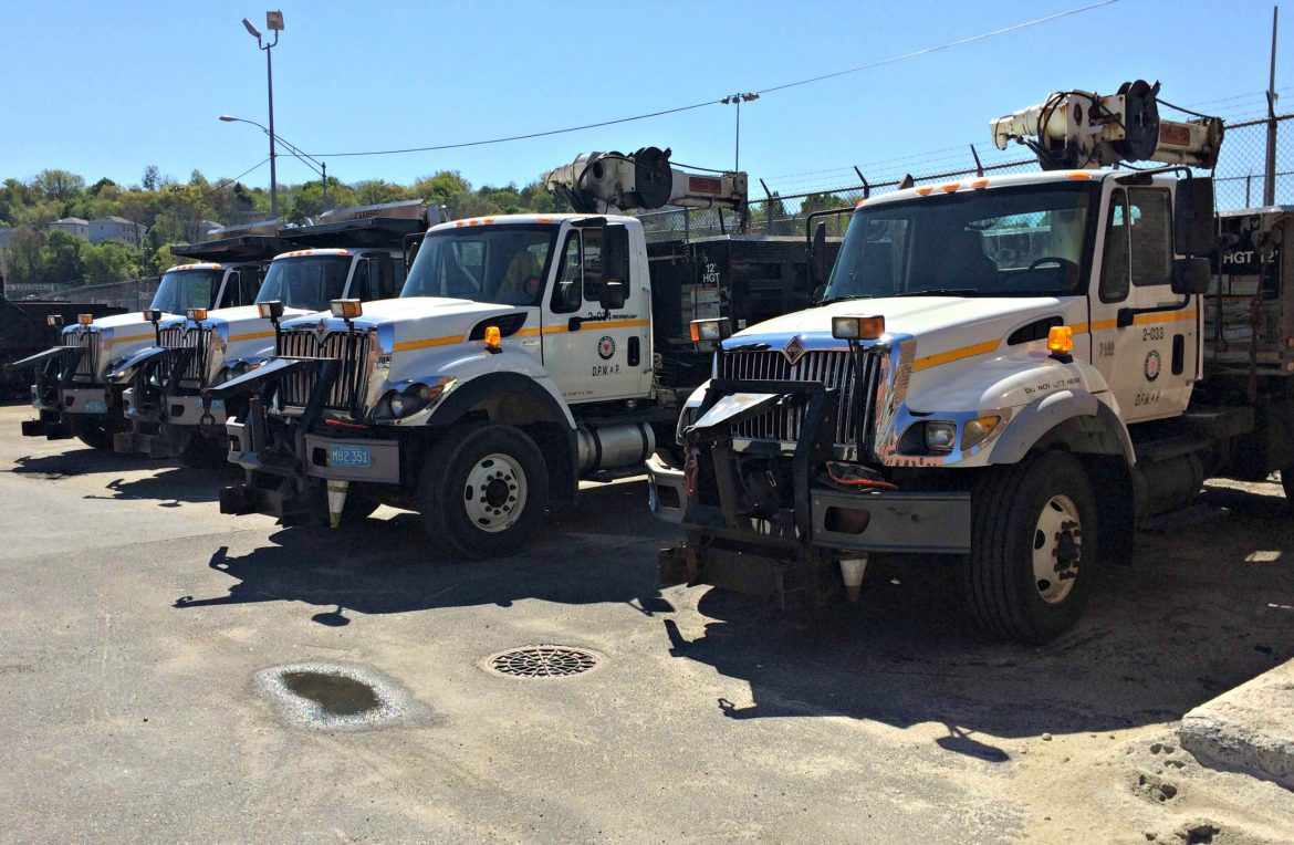 While the city adds to its fleet of heavy-duty trucks, many may be on their last legs.