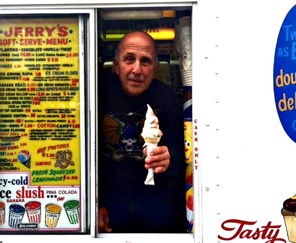 Jerry Bianculli, THE ice cream man in Worcester