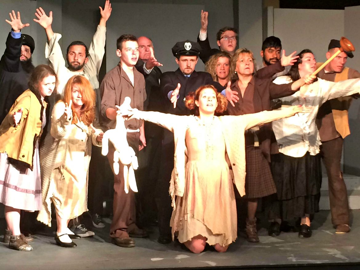 "WCLOC will put on seven June shows of the crowd favorite ""Urinetown"" to help fund plumbing repairs at Grandview Playhouse."