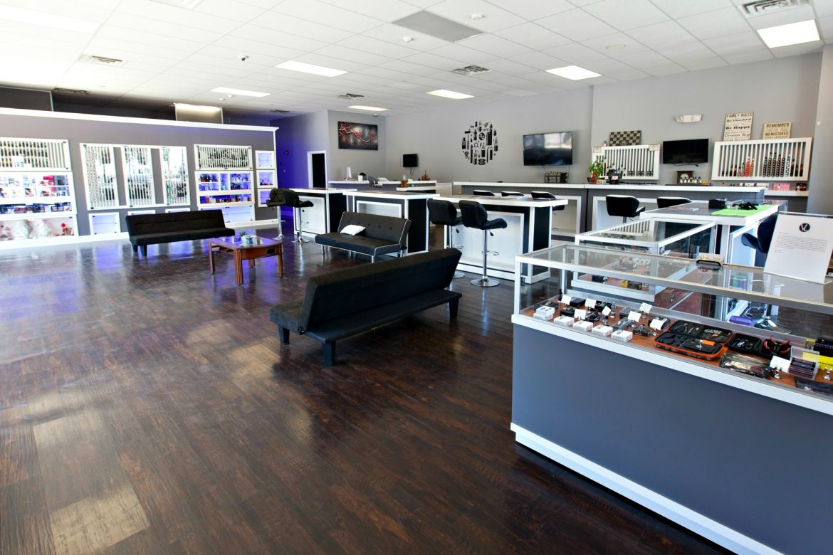 Vape Lounge recently opened in the same plaza as Padavano's Place.
