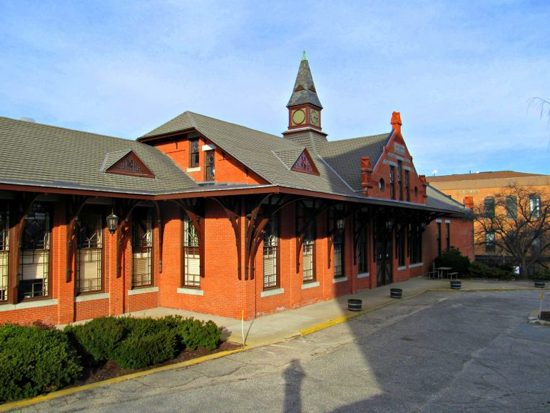 One Depot Square, Woonsocket, R.I., is the headquarters of Boston Surface Railroad Co.
