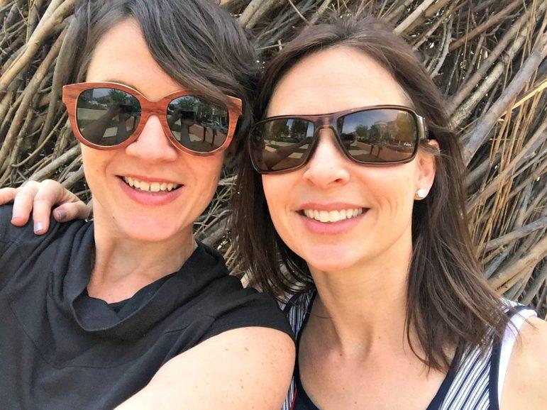 Suzi Capone, left, is Sullivan's business partner on LocalPorch.