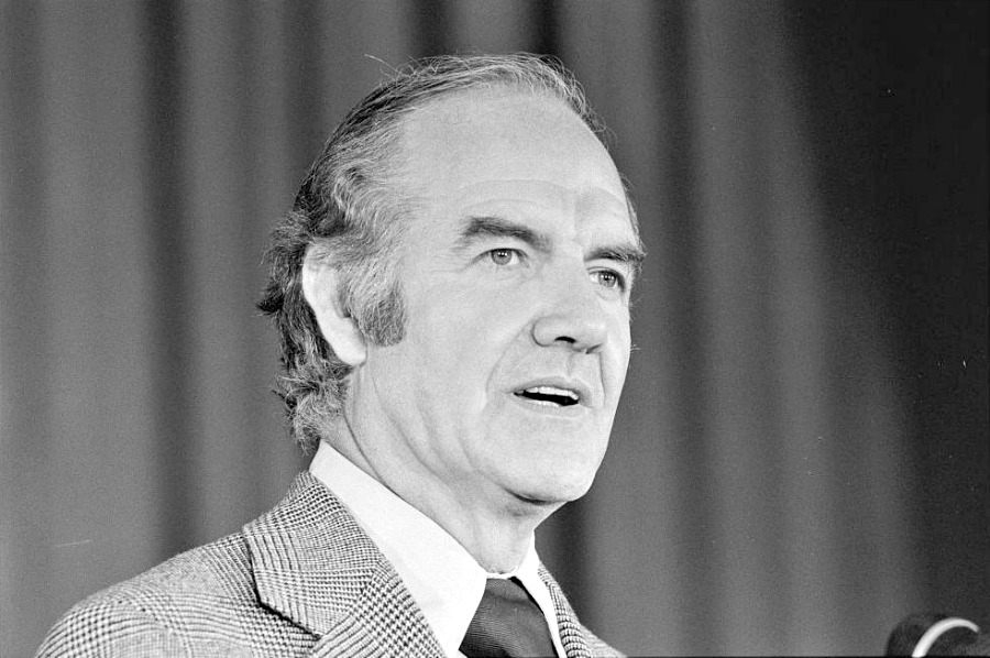 George McGovern, circa 1972