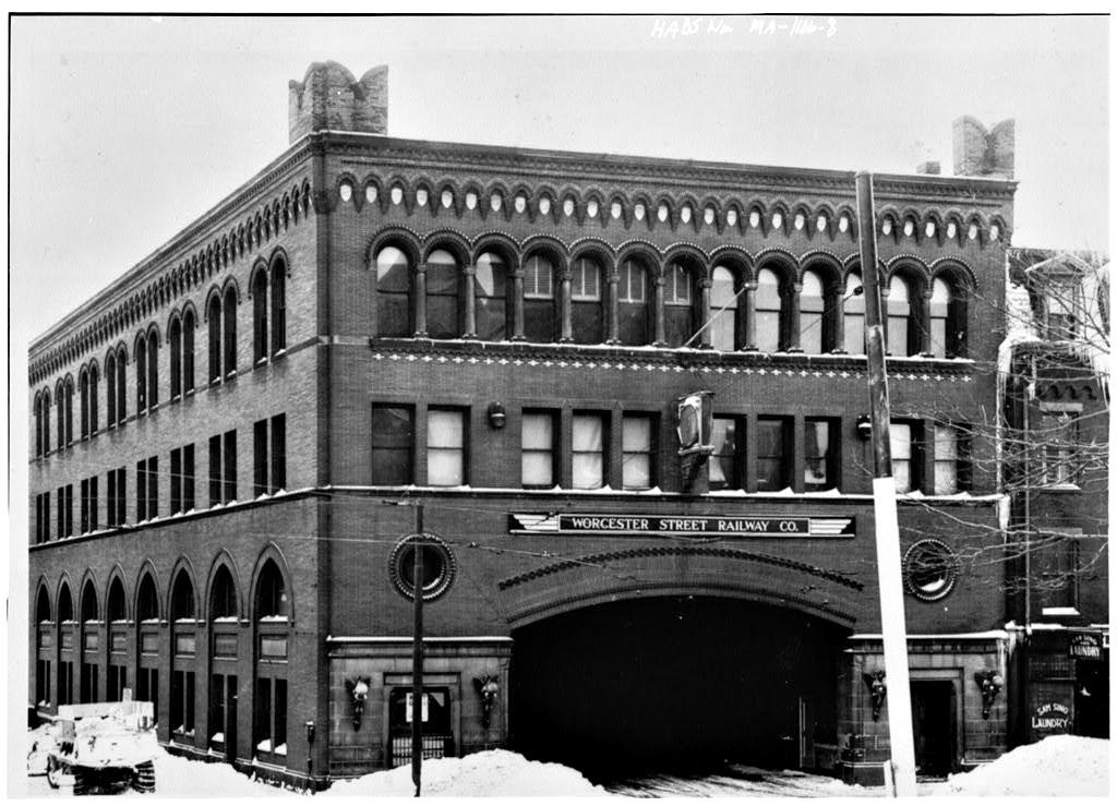 Main Street administration building, 99-109 Main St.