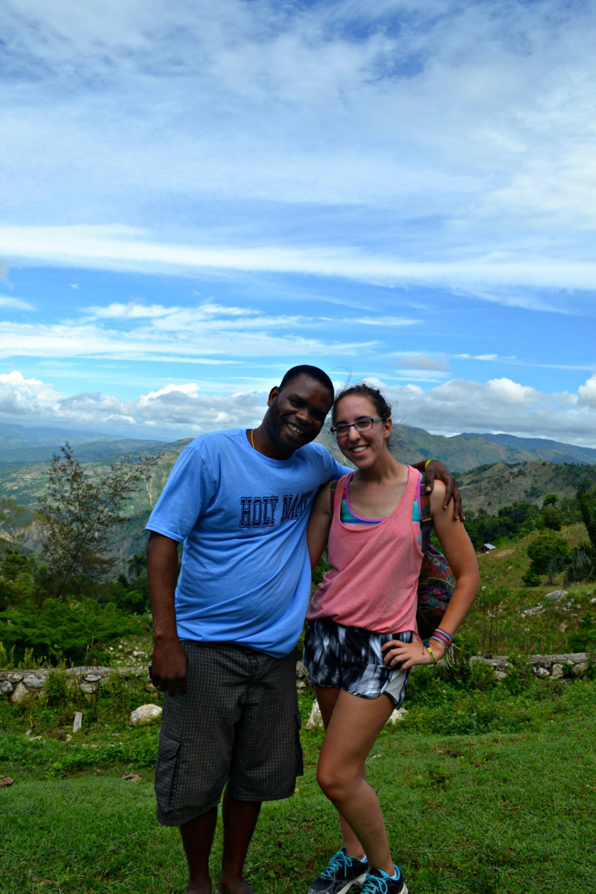 Me and Francky, one of the Haitian BLB staff members who helps lead Britsionary trips.