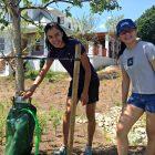 Haley Fong, left, and Karmen Diep were among the recent Wednesday volunteers.