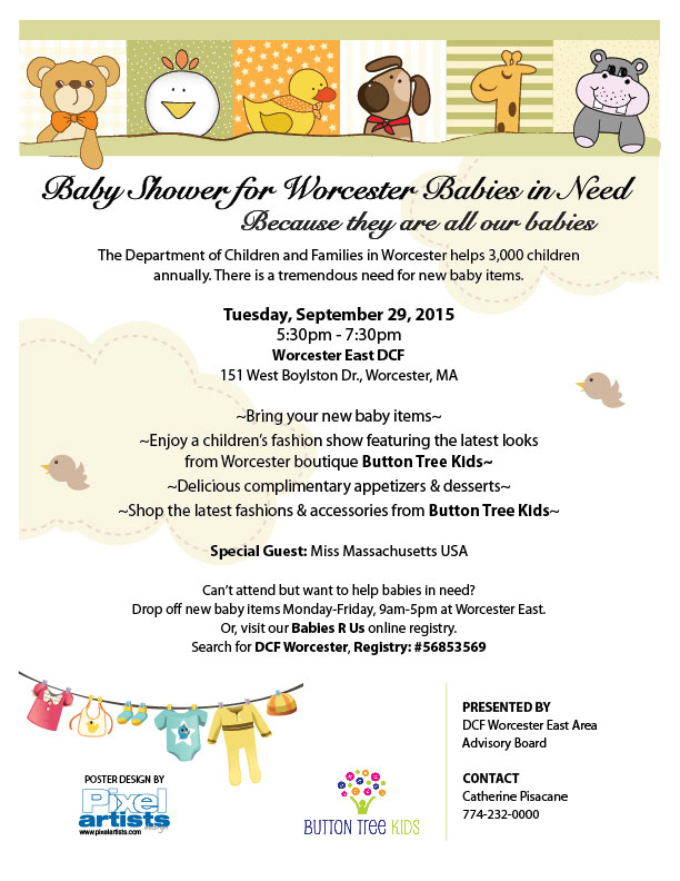 Worcester DCF Baby Shower 9-7-15