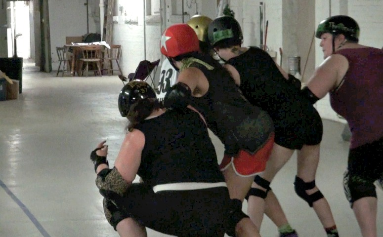 Welcome to roller derby, right at home in The Wide Woo of Sports.