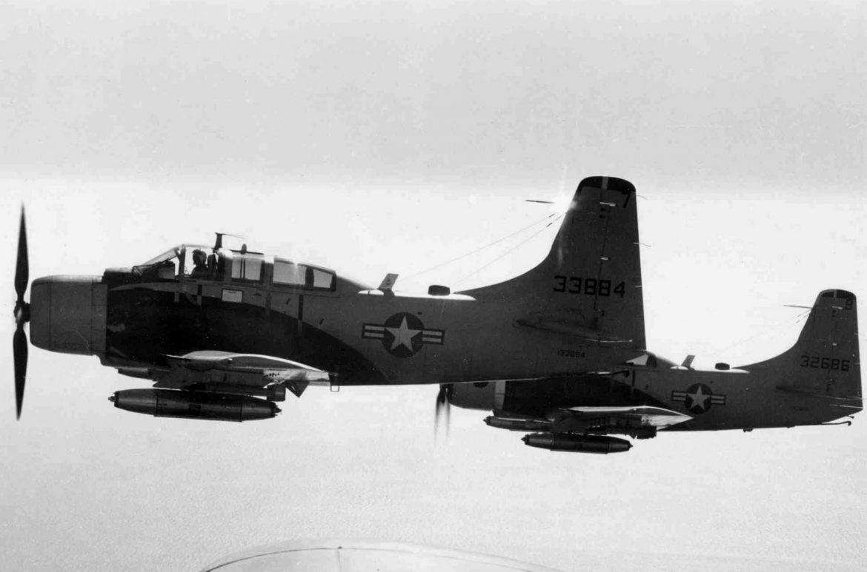 A-1E Skyraiders
