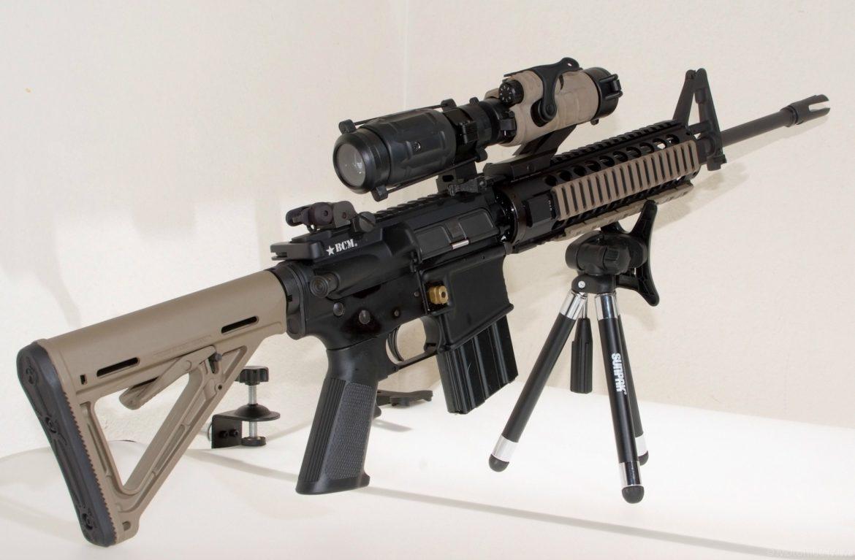 Bravo Company Mfg. modified AR-15