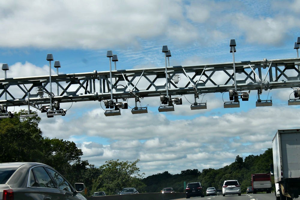 If you don't yet have a transponder, these gantries along the Pike will make sure you get a bill in the mail.