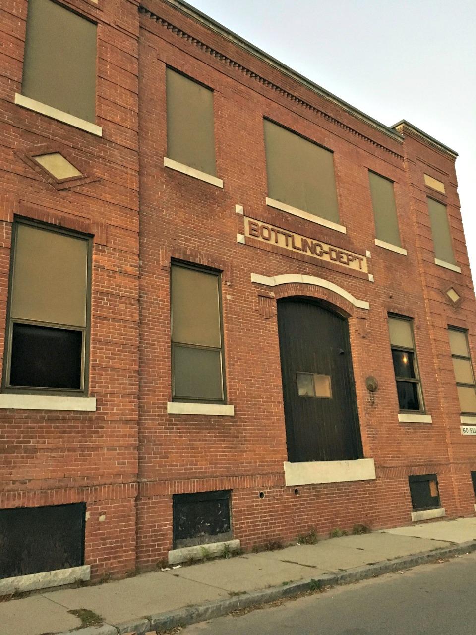 Brockert/Worcester Brewing Company building on Ellsworth Street.