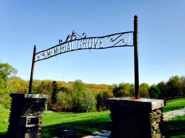 Memorial Grove entrance