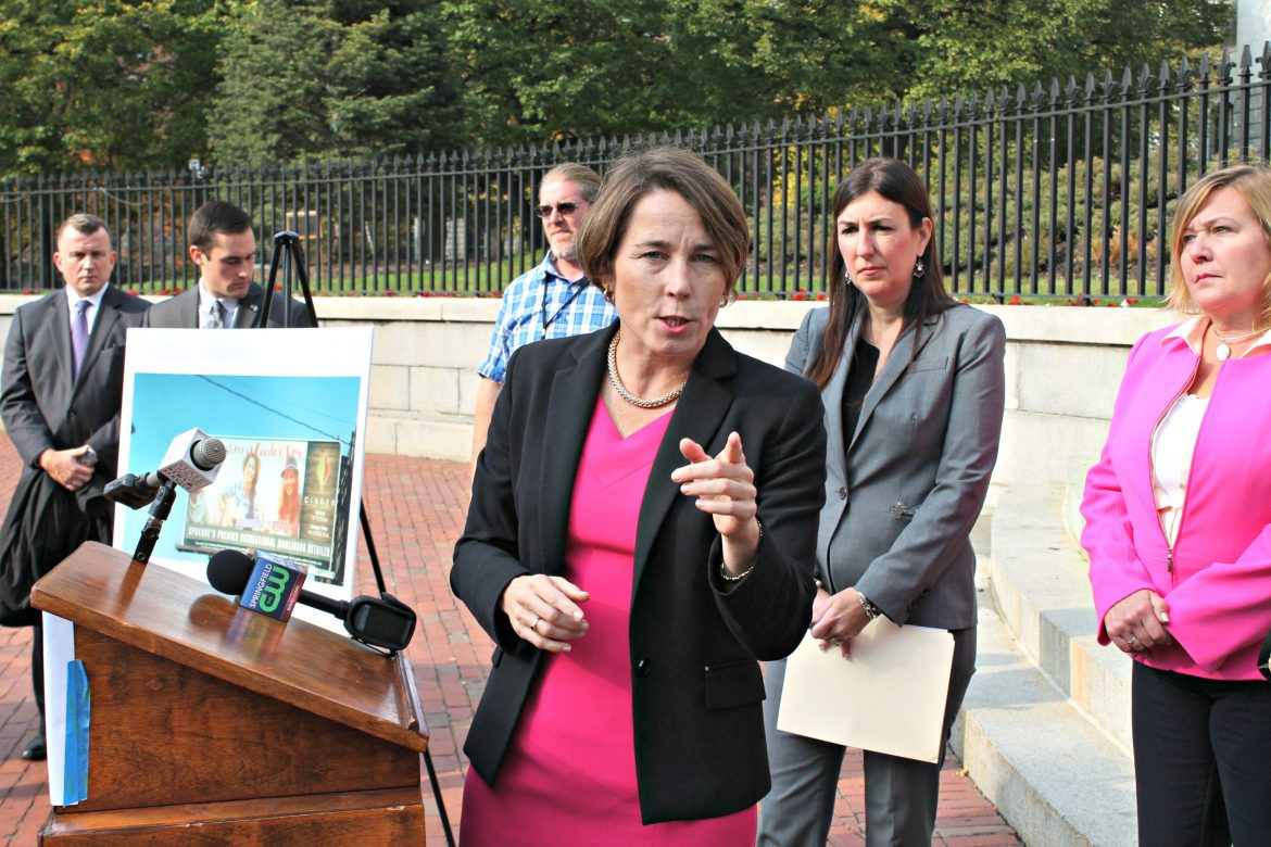 Maura Healey is strongly against Question 4.