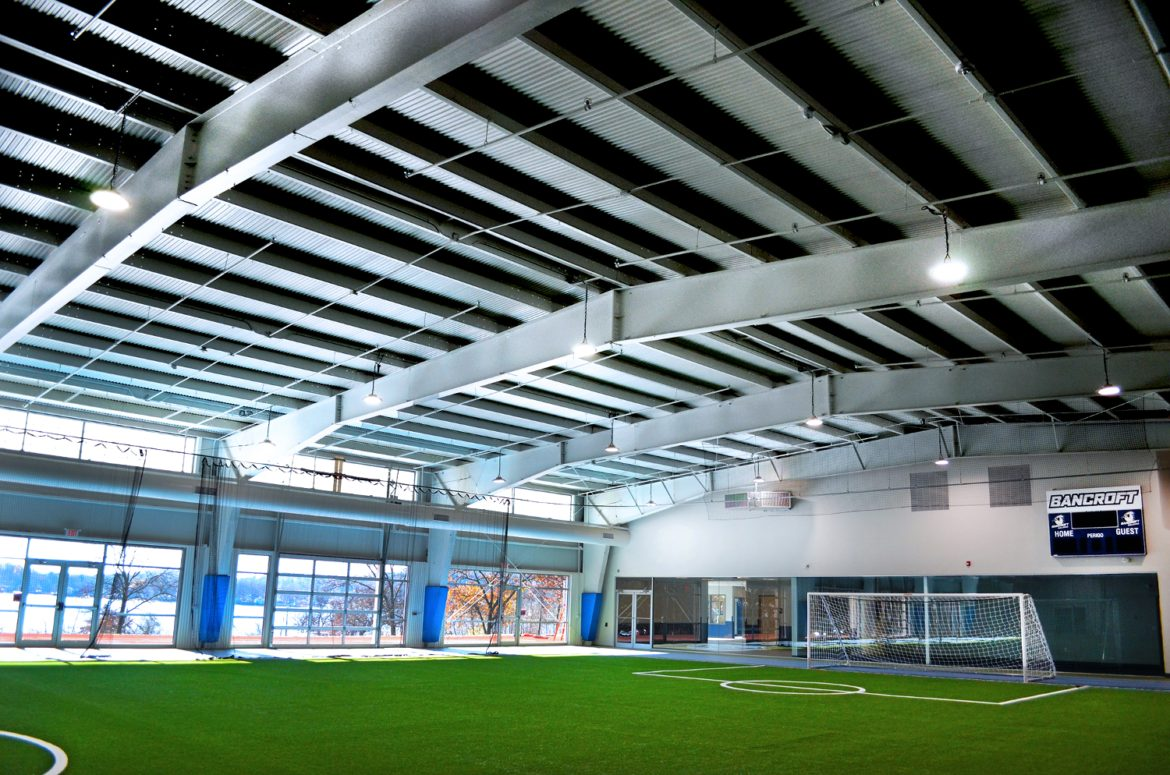 Bancroft School's new fieldhouse