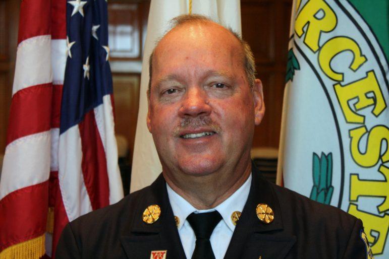 Worcester Fire Chief Geoffrey Gardell