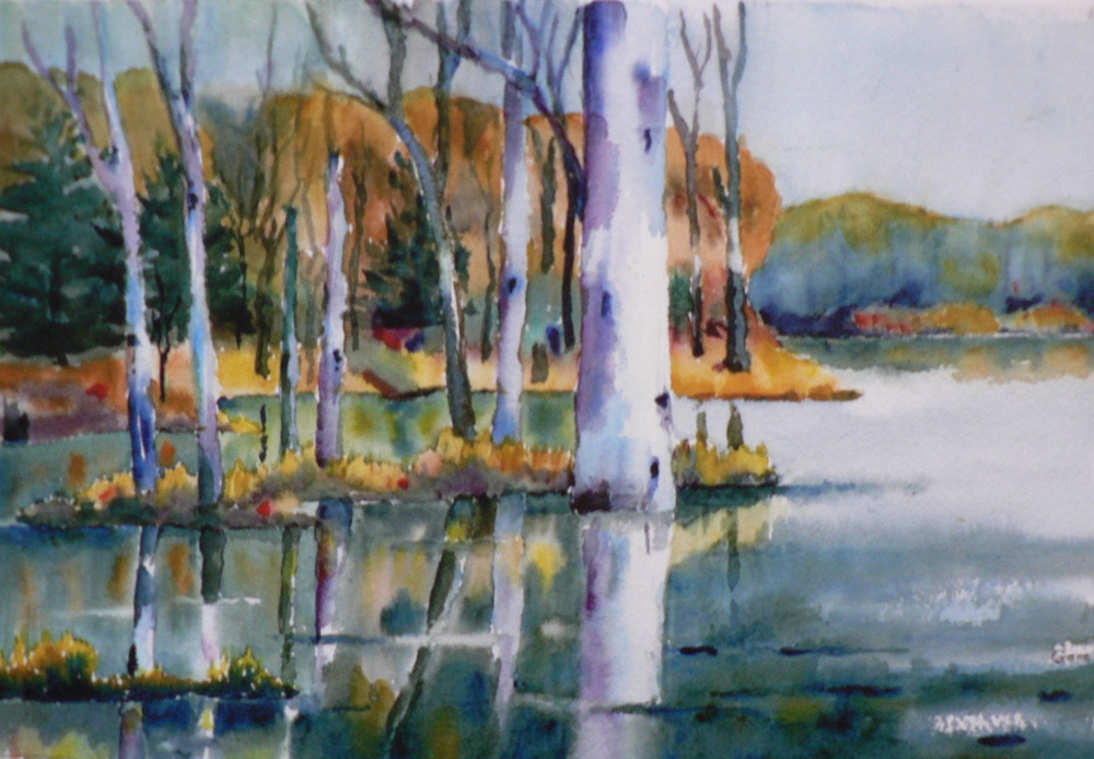 """""""Reflection"""" by Eugene McCarthy"""