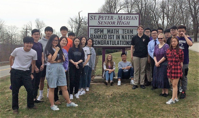 St. Peter-Marian math team