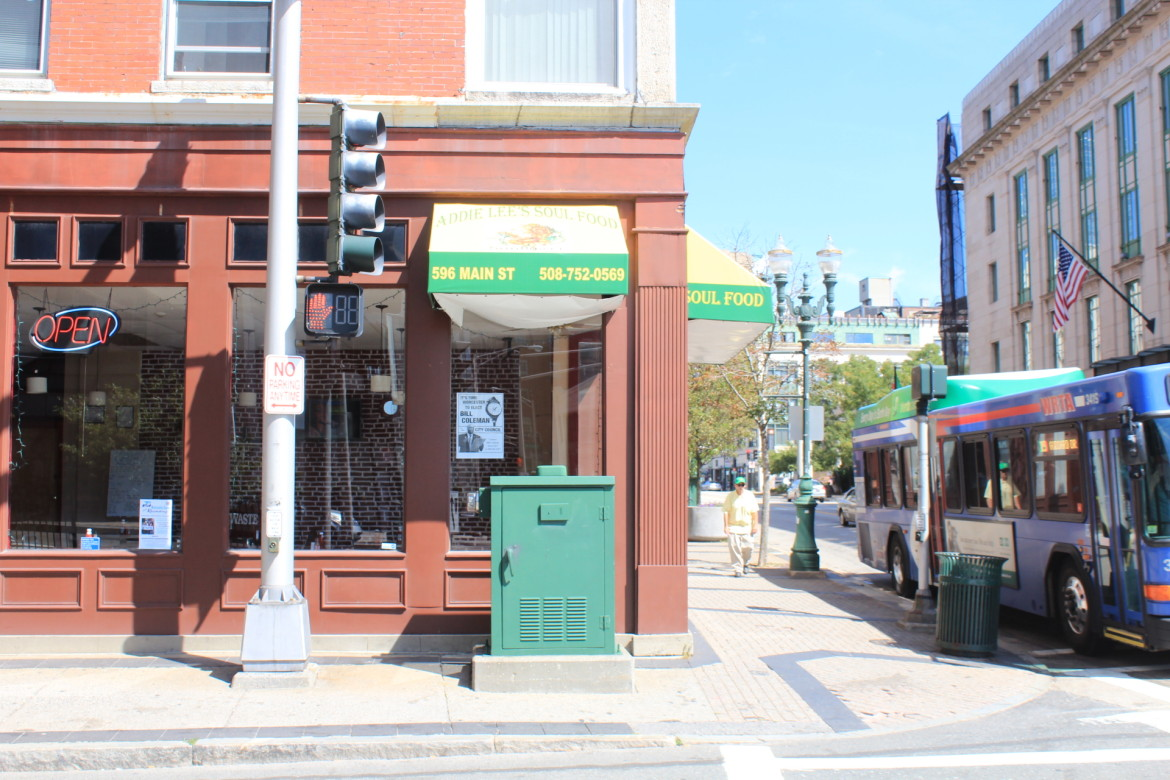 Addie Lee's Soul Food, at the corner of Main and Austin streets, opened last November.