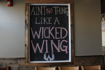 Wicked Wing Co. proved its motto true on opening night.