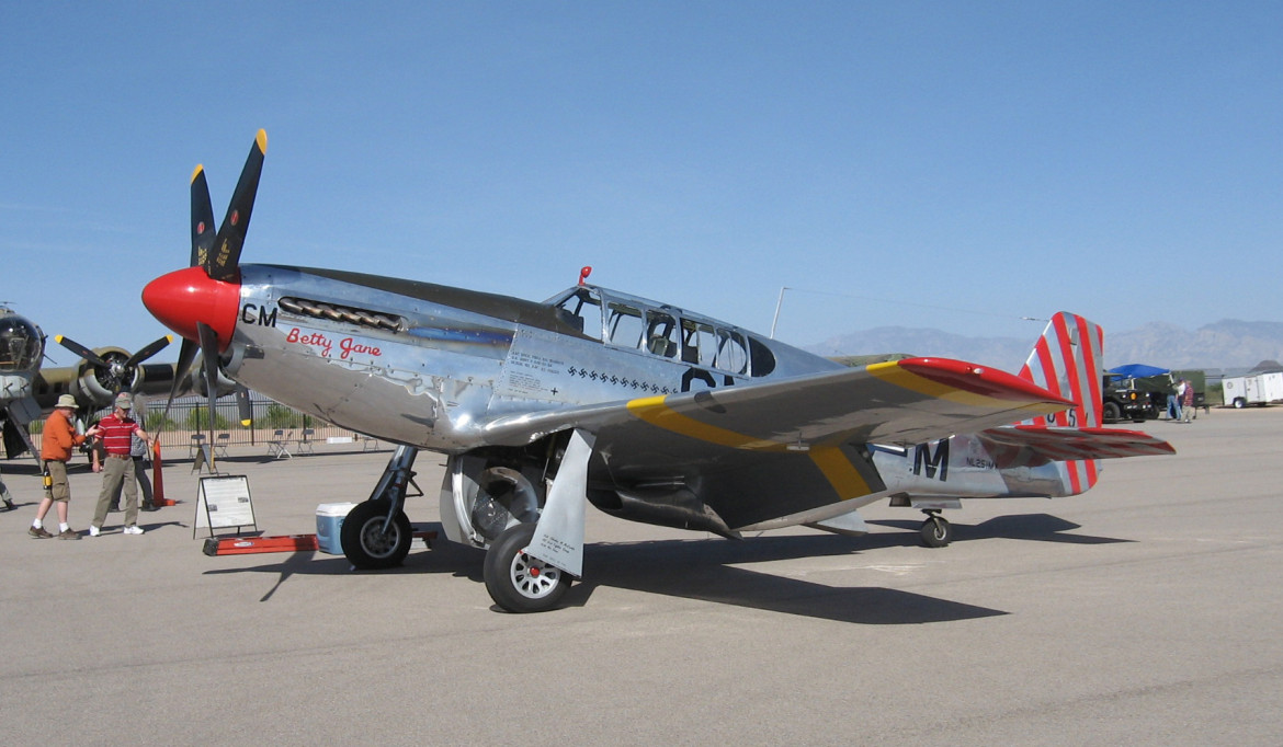 A P51-C Mustang will be among the renowned aircraft at the Wings of Freedom show Sunday at Worcester Regional Airport.