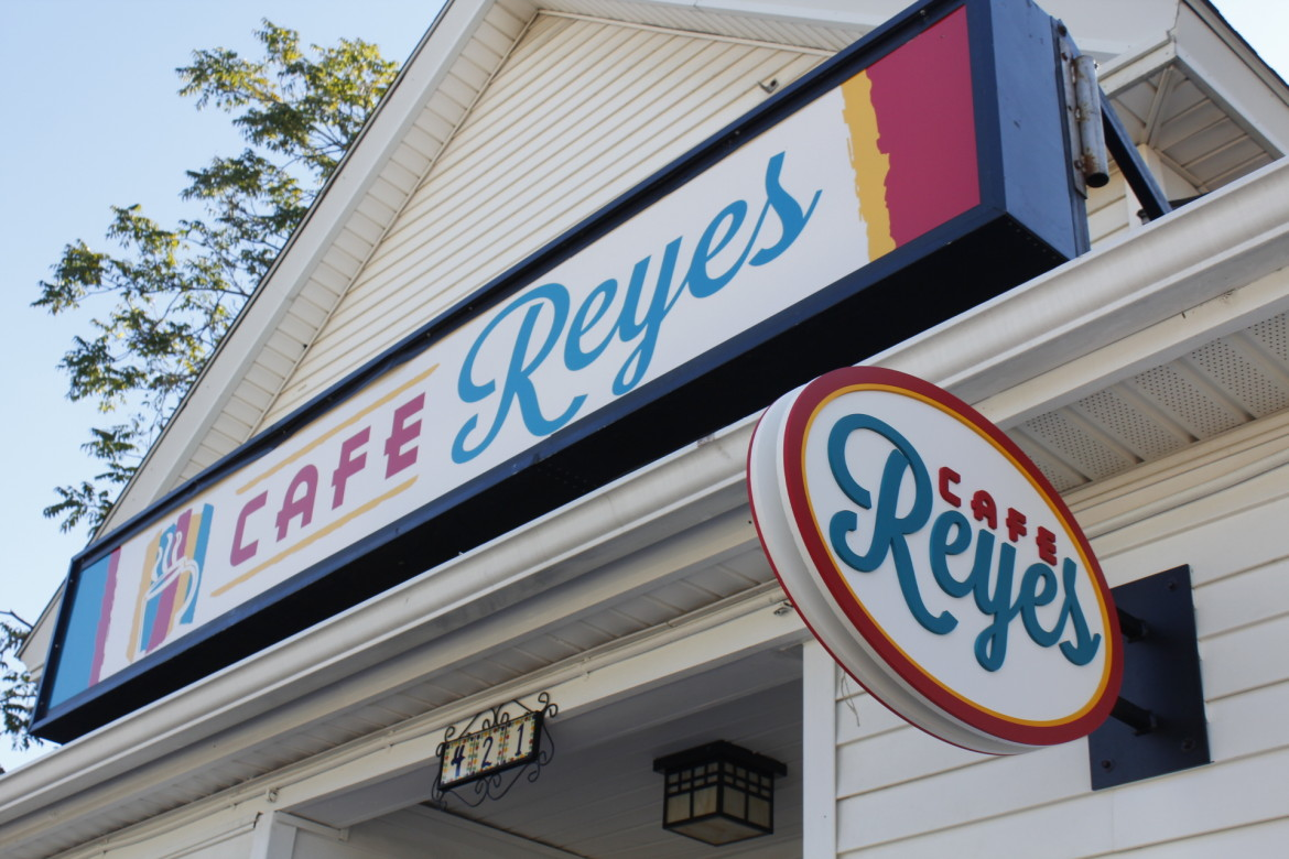 Cafe Reyes is at 421 Shrewsbury St., former home to Dante's Restaurant