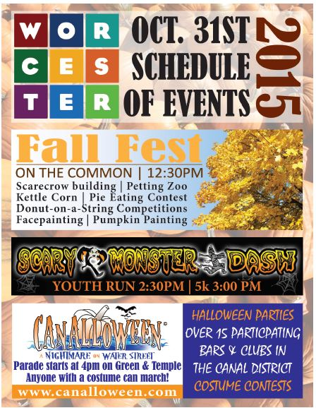 """Check out the city's Halloween """"triple threat"""" Saturday, Oct. 31."""
