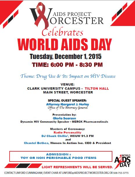 APW marks World AIDS Day with a program at Clark University.
