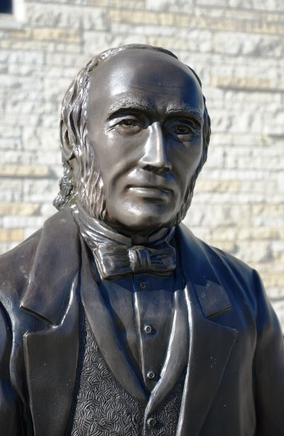 Ichabod Washburn statue