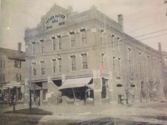 The White Eagle building was originally Father Mathew Hall.