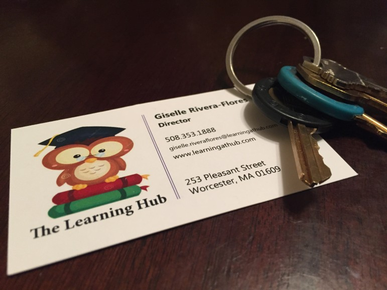 The keys to success, indeed -- The Learning Hub is coming soon to Pleasant Street.