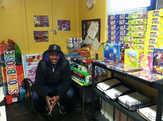 Orlando Baxter, who grew up in Great Brook Valley and graduated from South High, is intent on giving back to his community.
