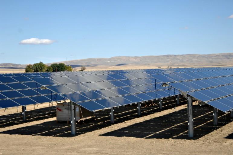 Topaz Solar Farm in Southern California