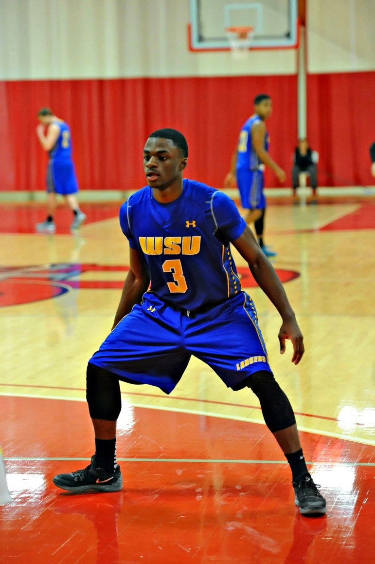 Jamal Mustapha is a key bench player for the Lancers, with 7.7 points and 5.7 rebounds per game.